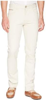 Robert Graham Gonzales Woven Denim in Stone Men's Jeans