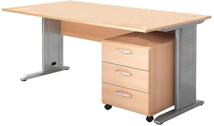 Wellemöbel Büro-Set Tomas VI (2-teilig)