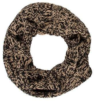 Portolano Patterned Knit Infinity Scarf