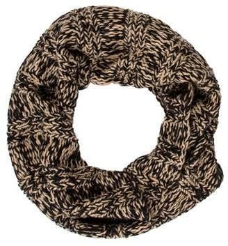 Portolano Patterned Knit Infinity Scarf