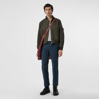 Burberry Technical Cotton Twill Trousers