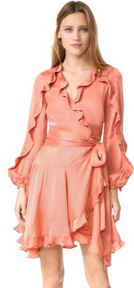 Zimmermann Winsome Flutter Robe Dress $630 thestylecure.com