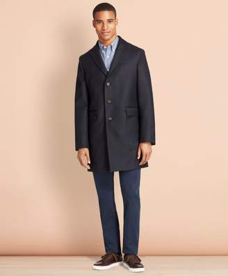 Brooks Brothers Double-Faced Wool Topcoat