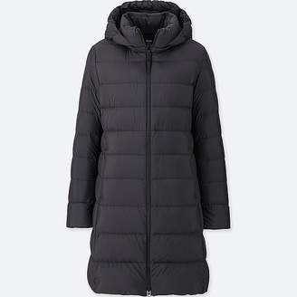 Uniqlo Women's Ultra Light Down Puffer Hooded Coat
