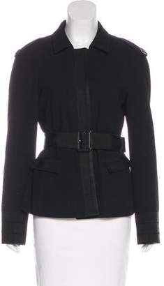 Burberry Wool Belted Jacket
