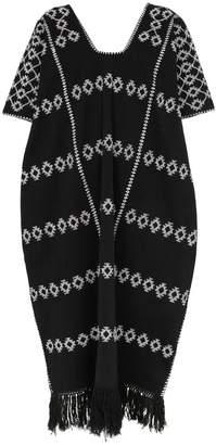 Pippa Holt tassel detail embroidered kaftan dress