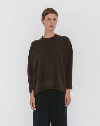 Pas De Calais Brown Pullover Knit