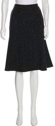 Stella McCartney Wool-Blend Knee-Length Skirt