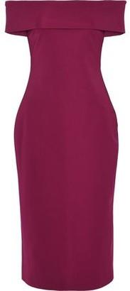 Cushnie et Ochs Off-The-Shoulder Crepe Dress