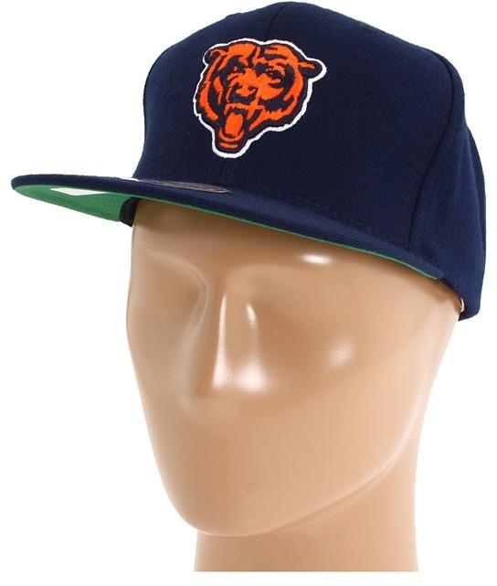 Mitchell & Ness NFL Throwbacks Basic Logo Snapback - Chicago Bears (Chicago Bears) - Hats
