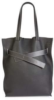 Loewe Vertical Belt Grained Leather Tote