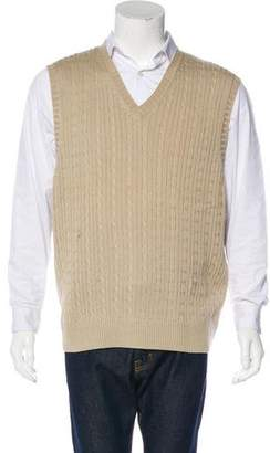 Descente Cable Knit Sweater Vest