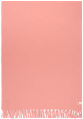 Rag & Bone Pink Classic Wool Scarf
