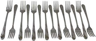 One Kings Lane Vintage C. 1940 American Table Forks - Set of 14