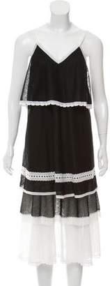 Jonathan Simkhai Mesh Midi Dress