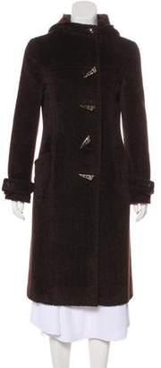 Agnona Long Hooded Coat