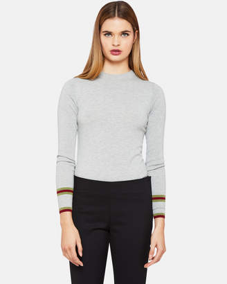 Oxford Amanda Striped Cuff Knit