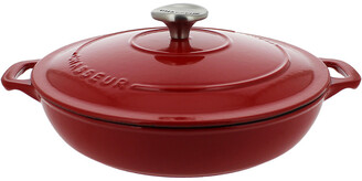 French Home Chasseur 1.8Qt Cast Iron Braiser