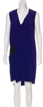 Reed Krakoff Asymmetrical Mini Dress