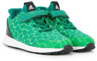 adidas Kids textured touch strap sneakers
