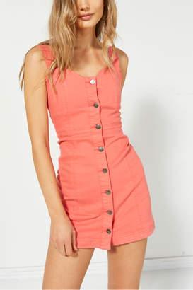 MinkPink Mink Pink Chasing Sunrise Denim Dress