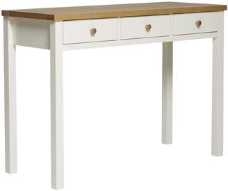 Webster Temple & Hamptons Dressing Table Console