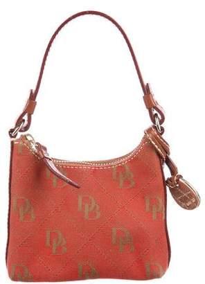 Dooney & Bourke Leather-Trimmed Mini Handle Bag