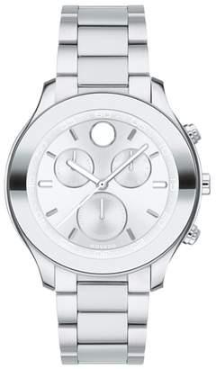 Movado Bold Chronograph Bracelet Watch, 39mm