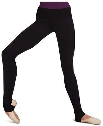Capezio Women's Stirrup High Waist Leggings L