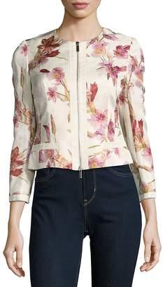 Karen Millen Women's Relaxed Printed Jacket