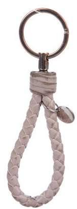 Bottega Veneta Intrecciato Strap Keychain