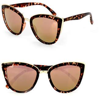 Steve Madden 53mm Cat-Eye Sunglasses
