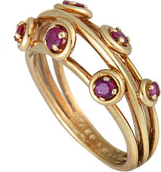Boucheron Heritage  18K Ruby Ring