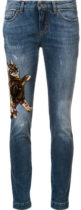 Dolce & Gabbana cat skinny jeans $1,395 thestylecure.com