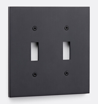 Rejuvenation Fenton Double Toggle Switchplate