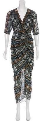 Veronica Beard Abstract Print Dress