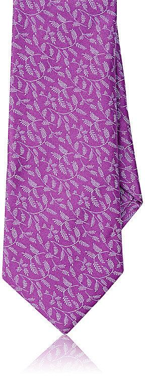 Barneys New YorkBarneys New York Men's Vine-Print Silk Necktie