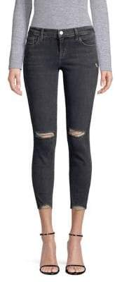 J Brand Alana Cropped Destroyed Jeans