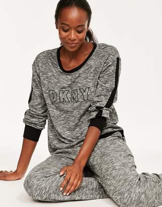 DKNY Self Titled L/S Top & Jogger Set