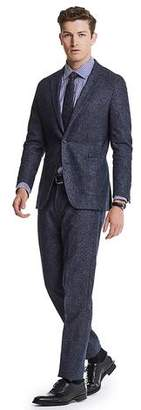 Todd Snyder White Label White Label Italian Heather Tweed Suit Jacket in Navy
