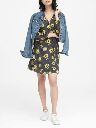 Banana Republic Floral Wrap Dress