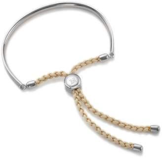 Monica Vinader Fiji Friendship Bracelet Sterling Silver
