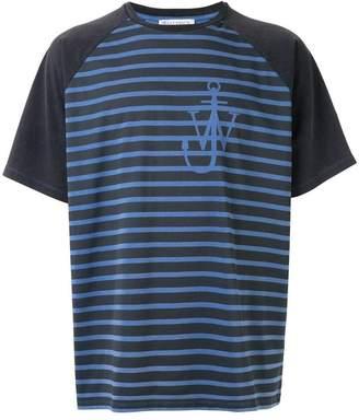 J.W.Anderson Anchor stripes raglan T-shirt
