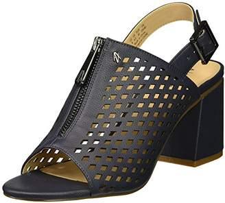 Armani Exchange A|X Women's Perforated Mule Heel Sandal