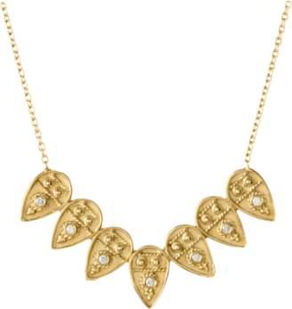 Amrapali Legend Heritage Petal Pendant Necklace