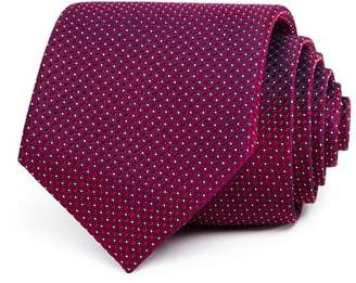 Bloomingdale's The Men's Store at Micro-Neat Silk Classic Tie - 100% Exclusive