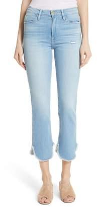 Frame Le High Straight Petal Hem Jeans