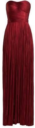 Maria Lucia Hohan Anjoux Silk Dress - Womens - Red