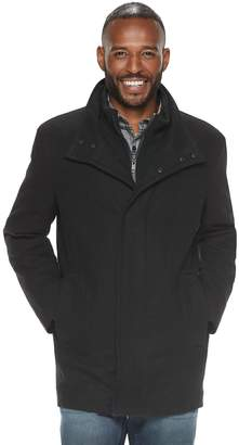 Andrew Marc Am Studio By Men's AM Studio by Wool-Blend Car Coat with Bib
