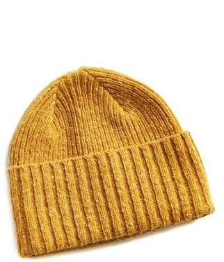a29534e455b Drakes Drake s Donegal Merino Wool Hat in Yellow
